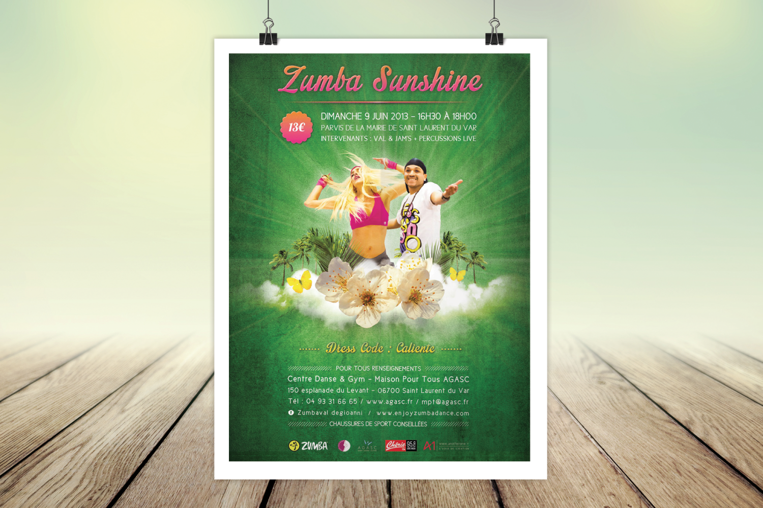 Flyer Zumba - Zumba Sunshine