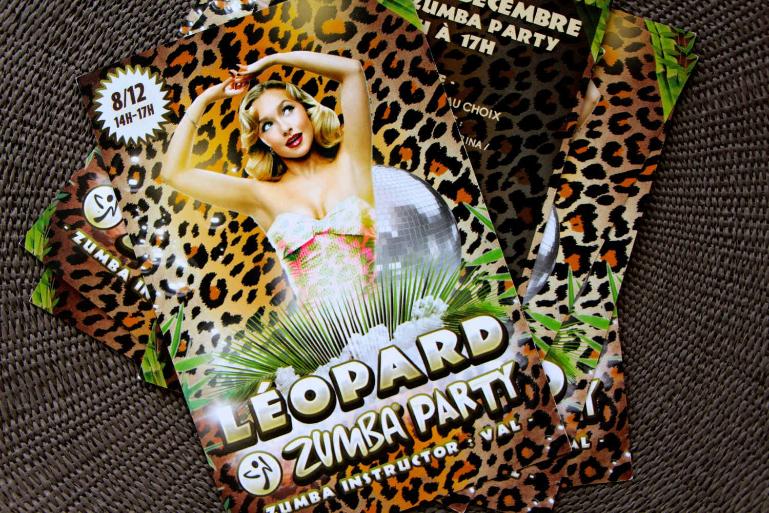 Flyer - Léopard Zumba Party